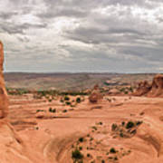 Delicate Arch Panoramic Art Print