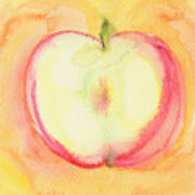 Delicious Apple Art Print