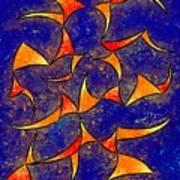 Delissianum V1 - Dancing Fire Art Print