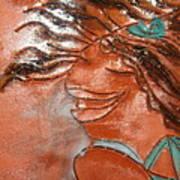 Della - Tile Art Print