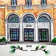 Delta Delta Delta Art Print