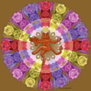 Deluxe Tribute To Tuko - Bronze Background Art Print