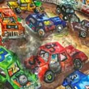 Demo Derby One Print by Jame Hayes