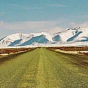Dempster Highway - Yukon Art Print