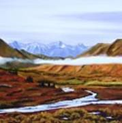Denali Autumn Art Print