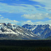 Denali Valley Art Print