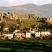 Denbigh Castle Art Print