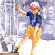 Denis 02 Art Print