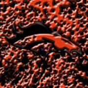 Denver Broncos 4b Art Print