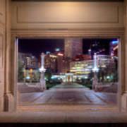 Denver Civic Center Park  Art Print