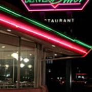 Denver Diner Art Print