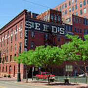 Denver Downtown Warehouse Art Print