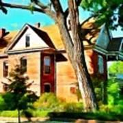The Denver House Art Print