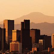 Denver Skyline 2003 Art Print