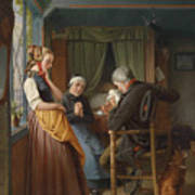 Der Brief Aus See Art Print