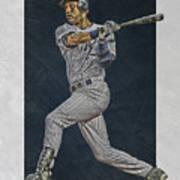 Derek Jeter New York Yankees Art 2 Art Print