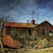 Derelict House Front Art Print