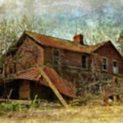 Derelict House Side Art Print