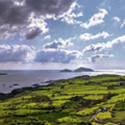 Derrynane National Park Along Ring Of Kerry, Ireland Art Print