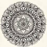 Des Tapestry Medallion Art Print