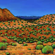 Desert Afternoon Art Print