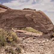 Desert Badlands Art Print