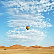 Desert Balloon Art Print