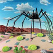 Desert Bug Art Print by Snake Jagger
