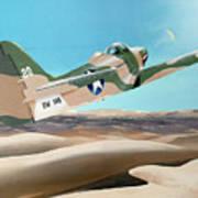 Desert Cobra Art Print