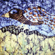 Desert Crow Art Print by Carol Law Conklin