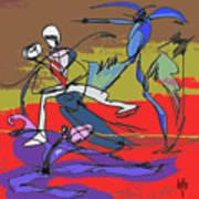 Desert Dance  Art Print