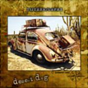 Desert Dog Art Print