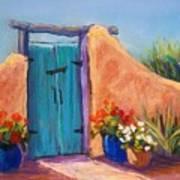Desert Gate Art Print by Candy Mayer