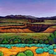 Desert Gorge Art Print