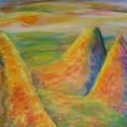 Desert Hiding 2 Art Print