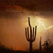 Desert Landscape Southwest Art Print