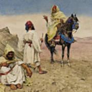 Desert Nomads Art Print