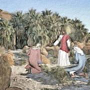 Desert Jesus Art Print