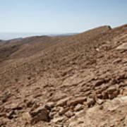 Desert Rock Art Print