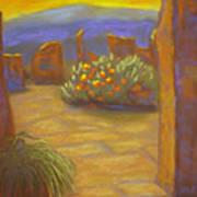Desert Rose Art Print by Marcia  Hero