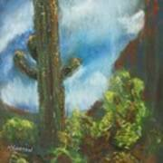 Desert Sentinel Art Print