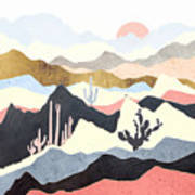 Desert Summer Art Print