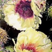 Desert Sundancers Art Print