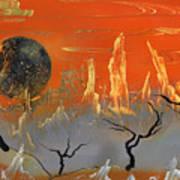 Desert Sunset Art Print