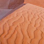 Desert Textures Art Print