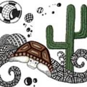 The Desert Tortoise Art Print