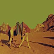 Desert Trek Art Print