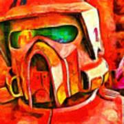 Desert Trooper - Pa Art Print