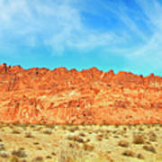 Desert Valley Of Fire Art Print