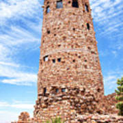 Desert View Tower, Grand Canyon Art Print